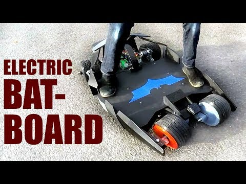 Building a Batman Electric Skateboard #3 | XRobots