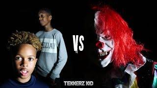 Killer Clown vs Kids | Scary Halloween Midnight Football!