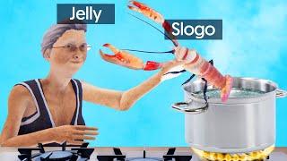 LOBSTER vs. 1000 DEGREE BOILING WATER! (Slap The Lobster)