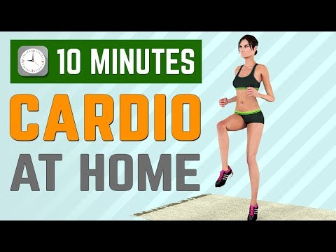 10 Minutes Cardio At Home (Burn Calories Fast)