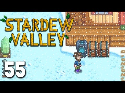 Stardew Valley Let's Play - Episode 55 -Down on Our Luck  [Stardew Valley Mining]