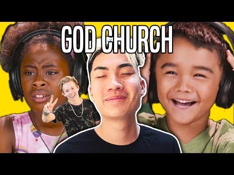 KIDS REACT TO RICEGUM (RiceGum - God Church (Official Music Video) | Thefinebros