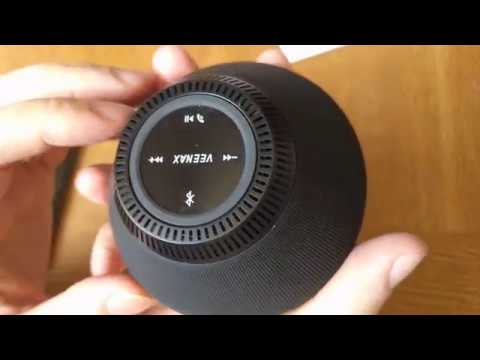 VEENAX PS-10 Wireless Portable Bluetooth Speaker Unboxing