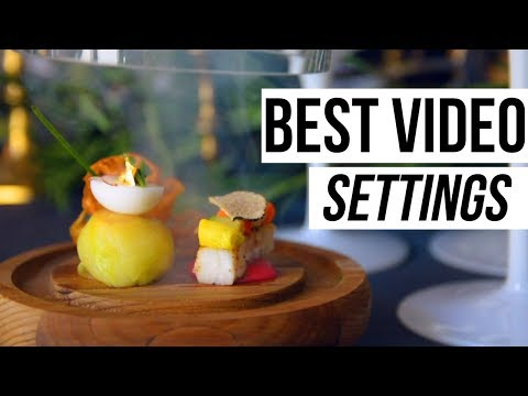 BEST Video Settings for DSLR (Nikon D5200/D5300/D5500) TUTORIAL II