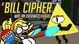 (Animation) If Bill Cipher Was An Overwatch Hero