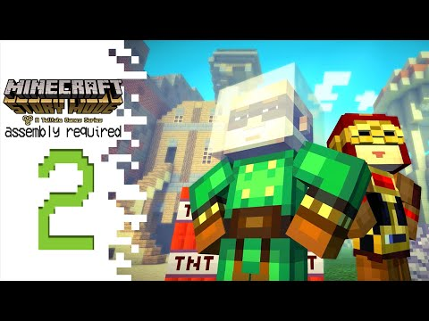 Minecraft: Story Mode (Episode 2)- Part 2 - Why The Hate?