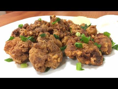 Crispy Chicken Gizzards