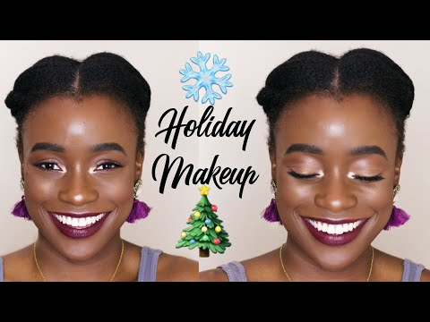 GRWM HOLIDAY MAKEUP WITH KIKO ARCTIC HOLIDAY COLLECTION + GIVEAWAY