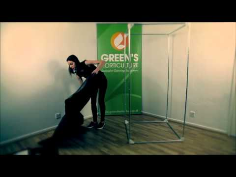 How to Set Up grow tent DR 90 2 | Greens Hydroponics Tutorial