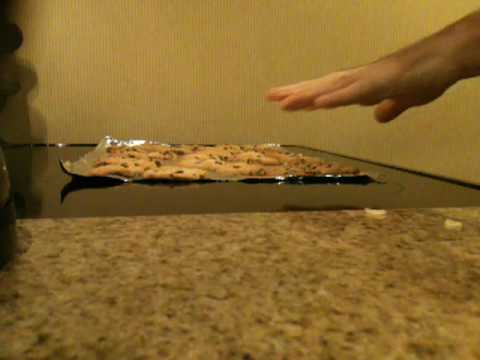How to take cookies out of the oven