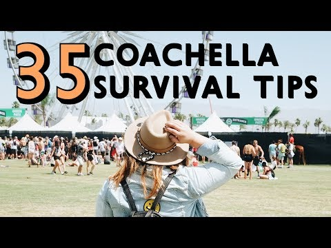 35 Tips and Tricks for Camping at Coachella 2017 | Be the Plebeian