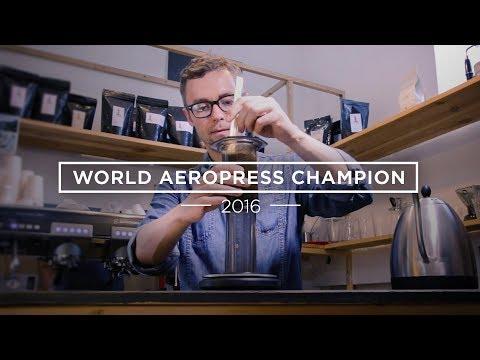 How To Make Aeropress Coffee - The Winning Recipe (WAC 2016)