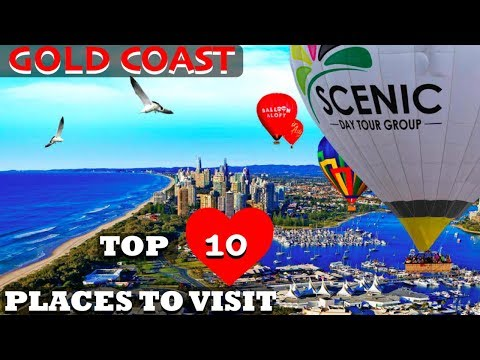 Top 10 Places To Visit in Gold Coast