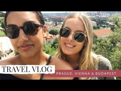 TRAVEL VLOG   Prague, Vienna & Budapest
