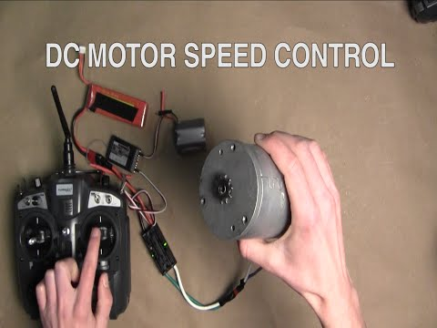 DC MOTOR SPEED CONTROL //  How To