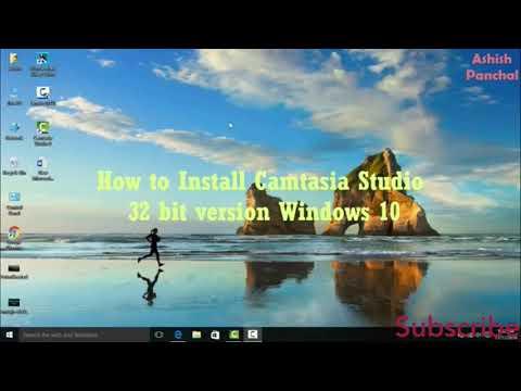 How to Install Camtasia Studio 8 For 32bit/64bit system Windows 10