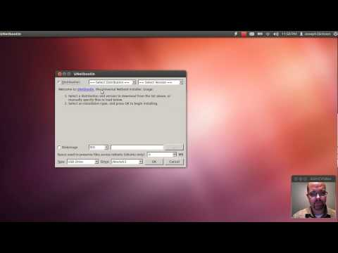 Creating a bootable USB stick in Ubuntu 12.04