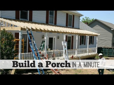 Build A Porch In A Minute - by Front Porch Ideas