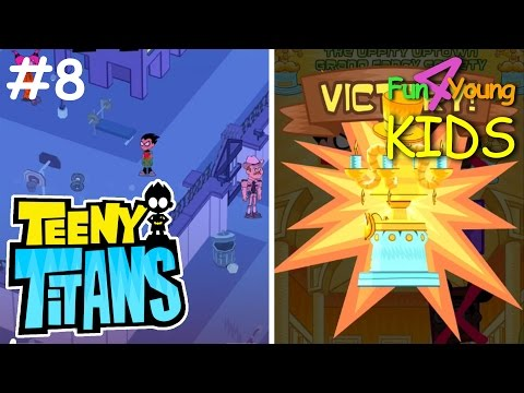 Teeny Titans // #8 WINNING UPPITY UPTOWN TOURNAMENT and JAIL
