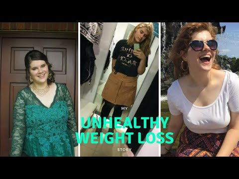 How I lost 30kg in 1 Summer | Unhealthy Weight Loss |