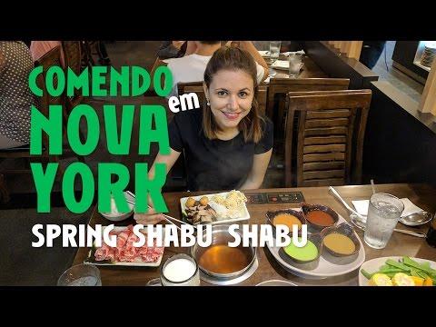Comendo em Nova York: Spring Shabu Shabu, em Flushing (parte 1)