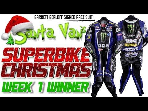 Santa Van's Superbike Christmas: Week 1 Race Suit Giveway Winner Announcement!