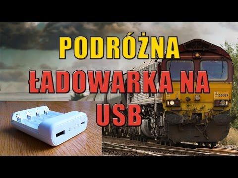Ładowarka Podróżna do baterii AA na USB