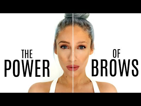 My Updated Eyebrow Routine AD - The Power Of BROWS in 3 Minutes  - Carly Musleh