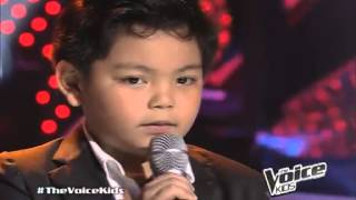 """Nathan Sings """"dont Stop Believing"""" On Thevoicekids"""