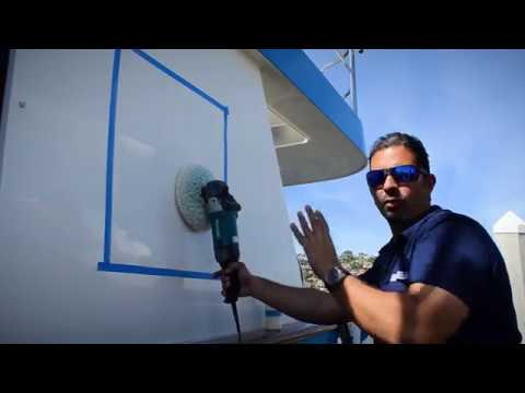 How to Apply Ceramic Coating to Yacht Paint or Gelcoat