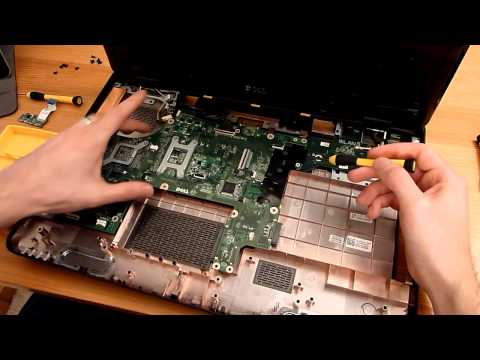 How to upgrade and dismantle a Dell 17R N7110