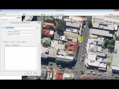 Google Earth Tutorial   How to add a placemark to Google Earth