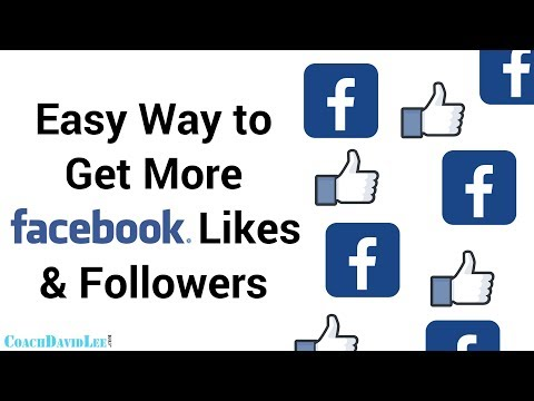 Get More Facebook Page Likes & Followers Fast - Simple Trick