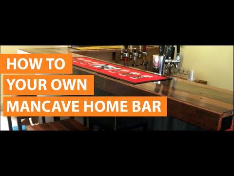 How to design & build a home bar