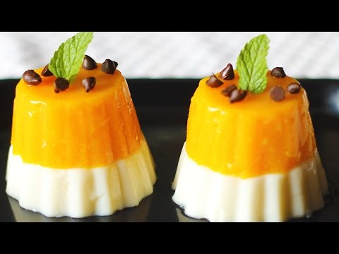 Mango Panna Cotta | Simple & Delicious Dessert Recipe | Mango Dessert Recipes | Kanak's Kitchen