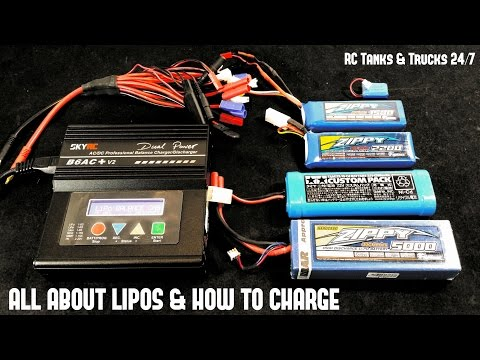 How To Charge & Balance Lipo Batteries & What All The Numbers Mean