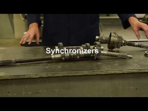 Manual Transmission & Trans-axle operation & gear ratios