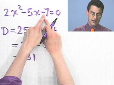 Predicting the Type of Solutions Using the Discriminant
