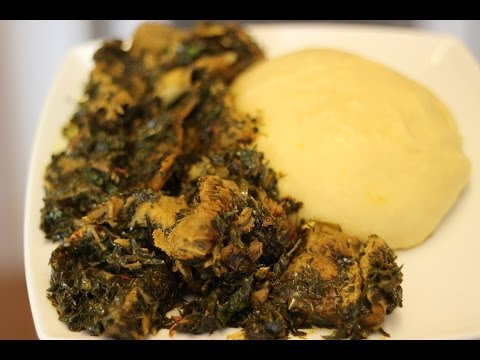 Afang Soup | Nigerian food | African food