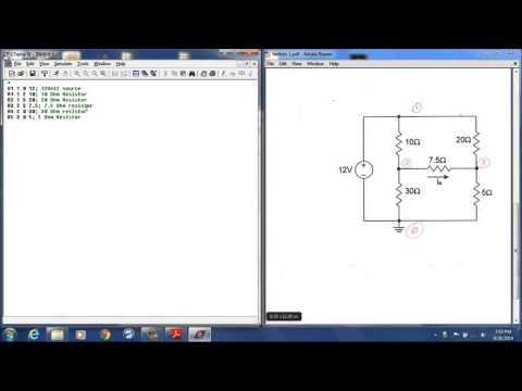 LT Spice Netlists tutorial 1