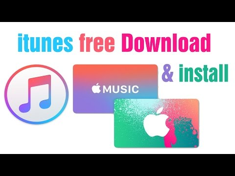 How to free download itunes & install for Windows XP, 7, 8 and 10