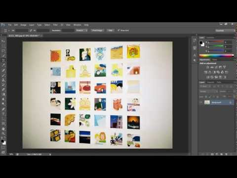 How to fix the perspective of an image on Photoshop CS6