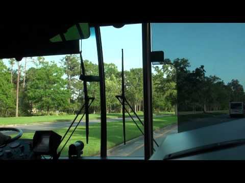 Walt Disney World Bus Ride Magic Kingdom - Saratoga Springs Resort (Paddock)