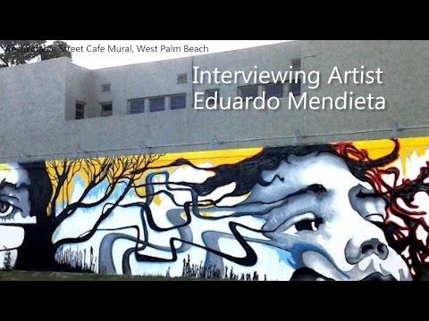 Artist Eddie Mendieta interview