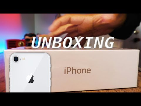 Apple iPhone 8 Unboxing | Silver Edition