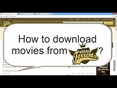 how to download movies from kickass.to 2017 ? (in 1:29 min)