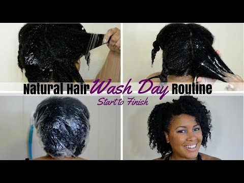 Natural Hair | WASH DAY ROUTINE