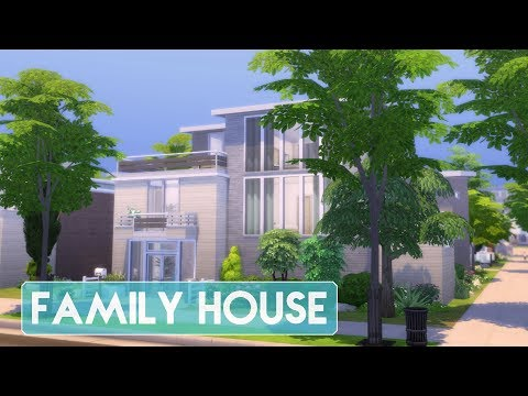 Sims 4 | House Building | Limited Packs Family House (Newcrest Townhouses)