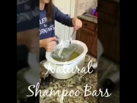 Make your own Shampoo Bars (DIY)