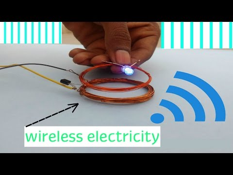 How To Make Wireless Electricity Transfer | DIY